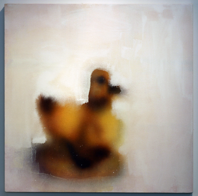 Duckling Receding into White, 2015