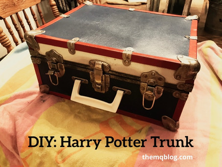 DIY: Harry Potter Trunk