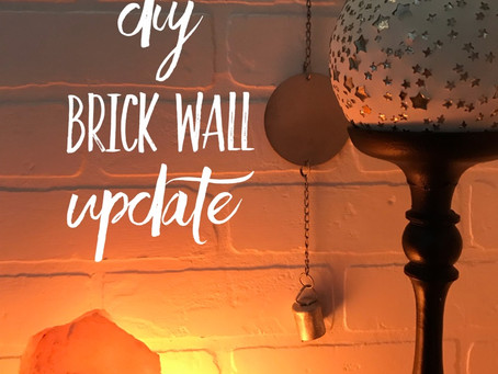DIY: Brick Wall Update