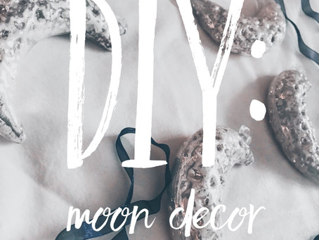 DIY: Moon Decor