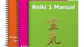 'Done For You' - REIKI LEVELS 1, 2 & 3 MANUALS