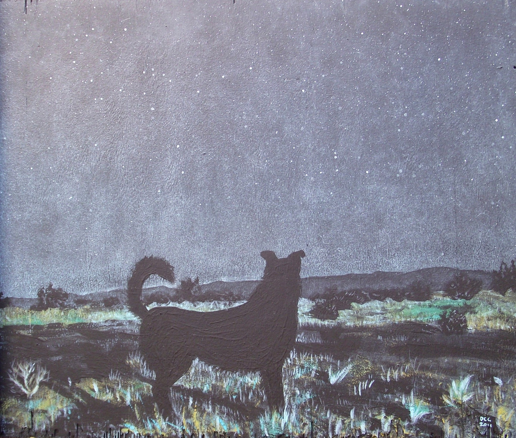 Black Dog By MoonLight II (2014)