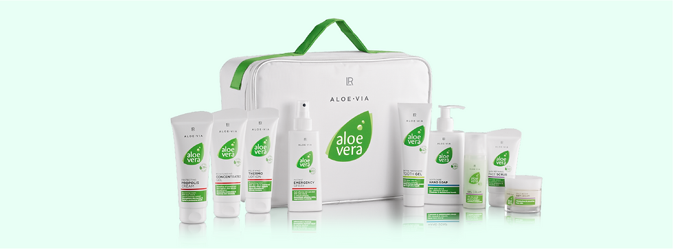 Produits naturels concentrés en Aloe Ver