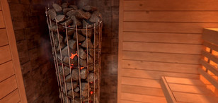 SAWO Sauna Heater - Phoenix Tower Range