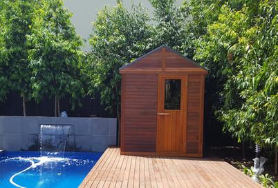 Outdoor Sauna - Custom Build