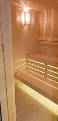 Custom Built Aspen Timber Sauna