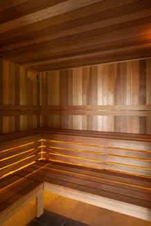 Custom Built Sauna Interior