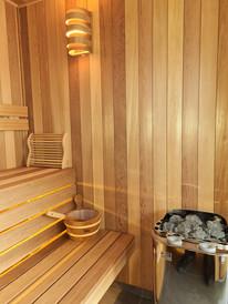 Custom Built Sauna Room