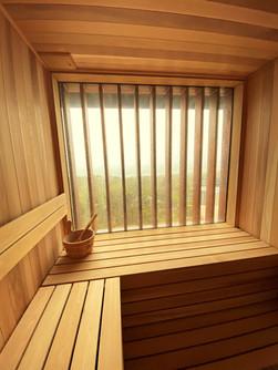 Custom Sauna Built Room