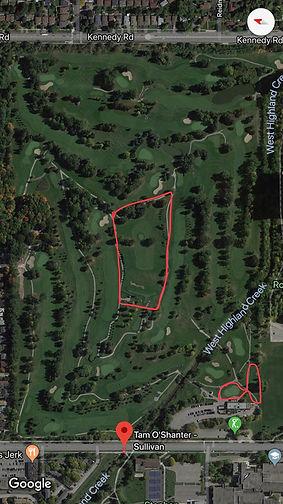 Private Lesson Area at Tam O'Shanter Golf Course