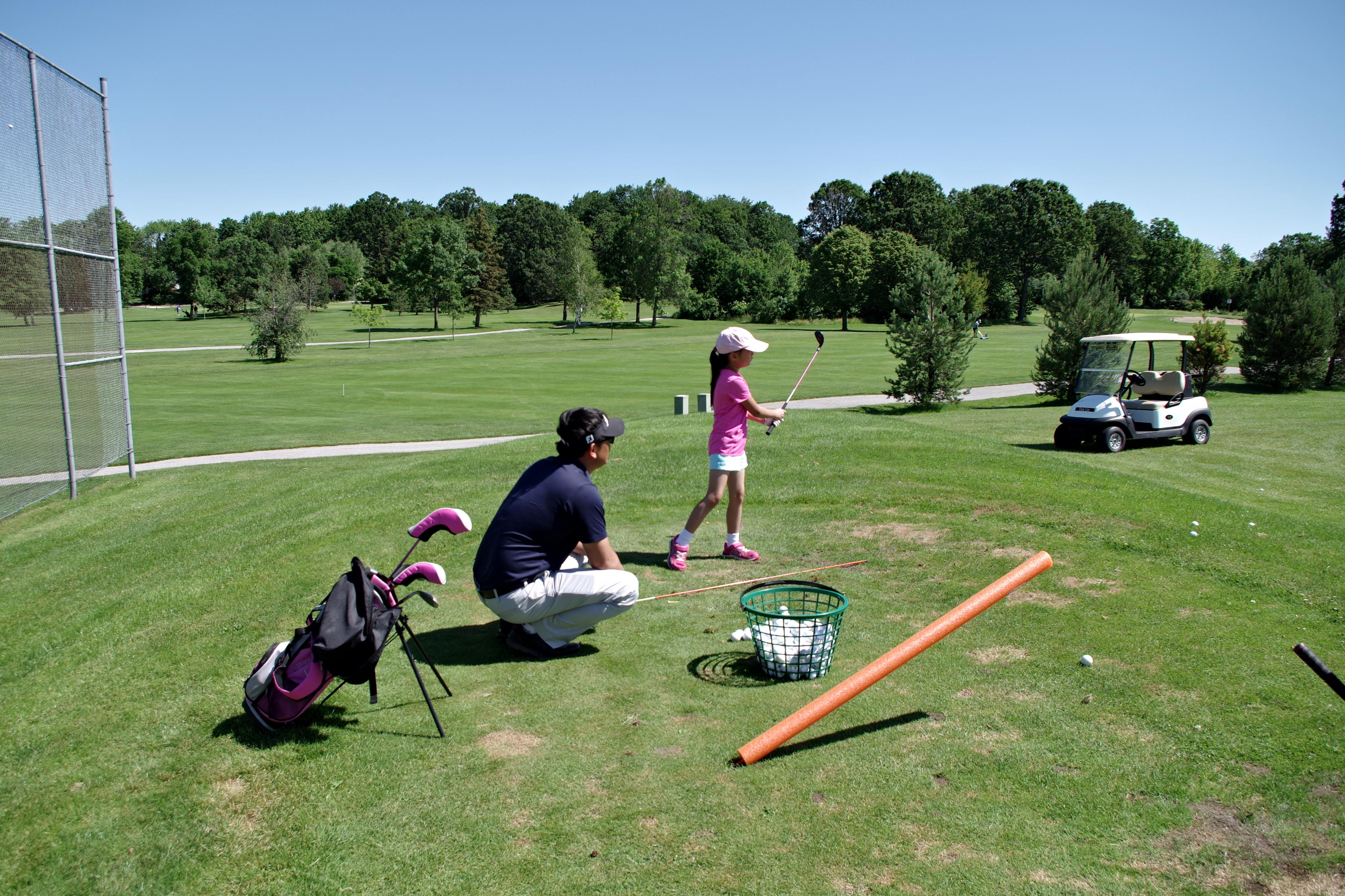 Junior Golf Lesson.