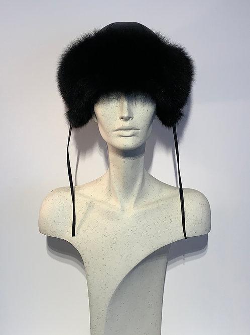 Chapeau de Renard noir