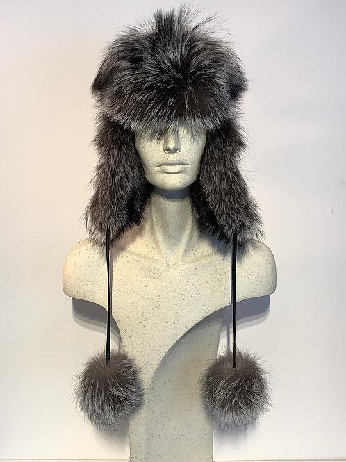 Chapeau de Renard argenté