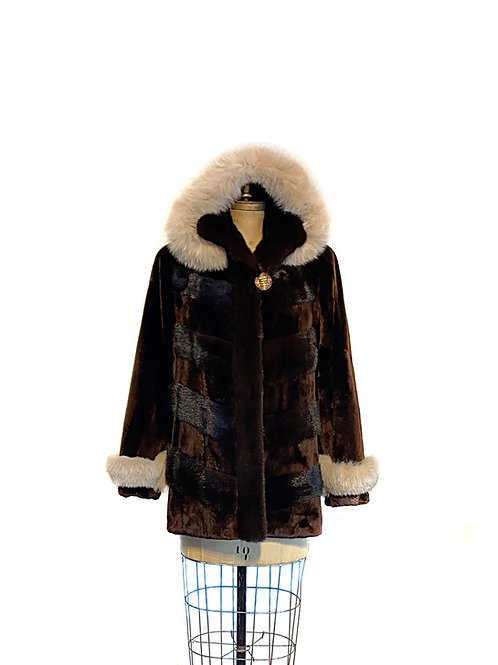 Manteau Phoque d'Alaska