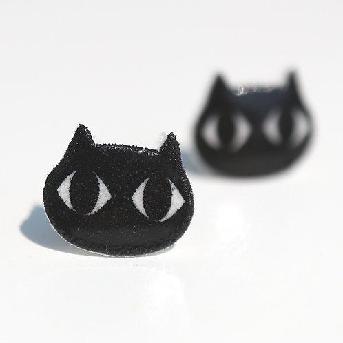 Kočka minimal- Naušnice pecky
