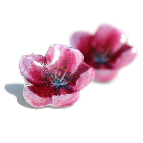 Sakura - Naušnice pecky