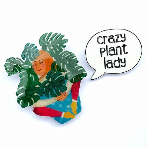 PLANT LADY - dvoj-brož
