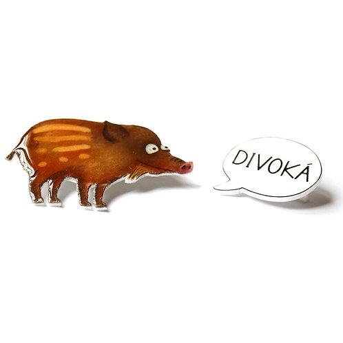 DIVOKÁ- dvoj-brož