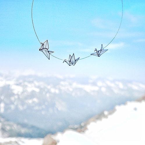 JEŘÁBI - náhrdelník