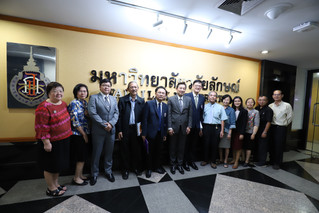Welcomed The Education Committee from Thai Dental Council for facility's readiness assessment Doctor