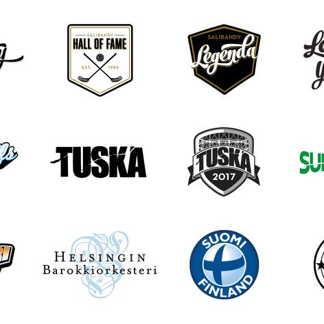 Logoja / tunnuksia / tuotemerkkejä