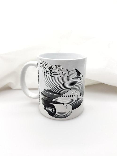 """Кружка """"AIRBUS 320"""""""