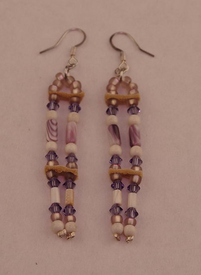 Earrings - Wampum