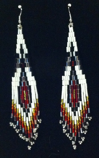 Earrings - Glass Bead