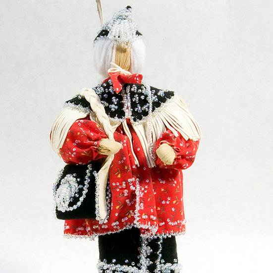 Cornhusk Doll Holding Purse (96:49)
