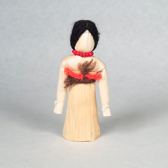 Small Standing Cornhusk Doll (83:04)