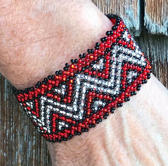 Bracelet- Loom Beaded