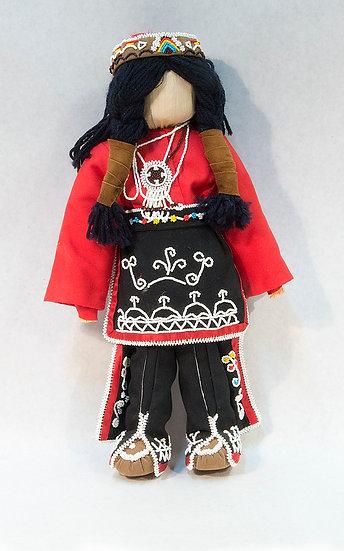 Male Cornhusk Doll (88:33b)