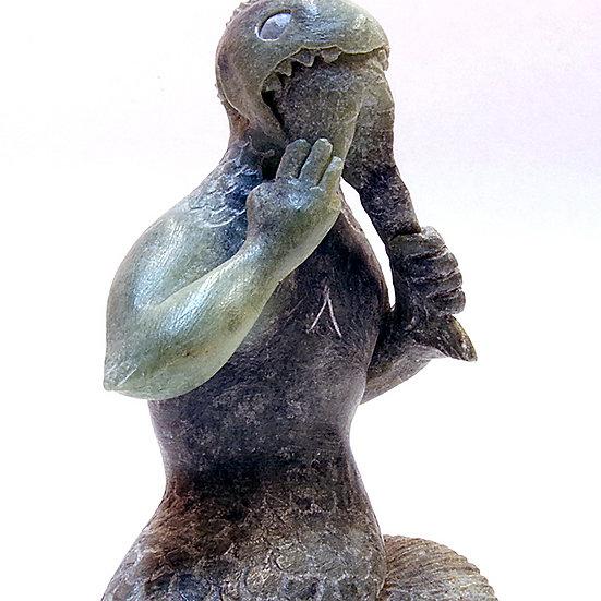 Soapstone Fish Man (90:10)