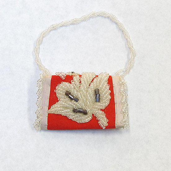 Miniature Antique Beadwork Case (87:46)