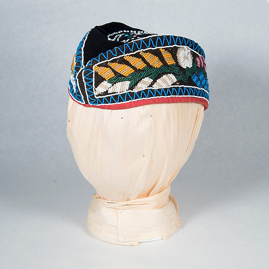 Antique Beaded Glengarry Cap (16:55)