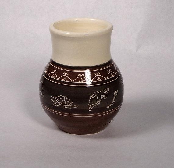 Clan Animal Vase