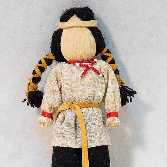 Traditional Cornhusk Doll (81:40)