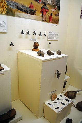 Archaeological Collection at the Iroquois Indian Museum