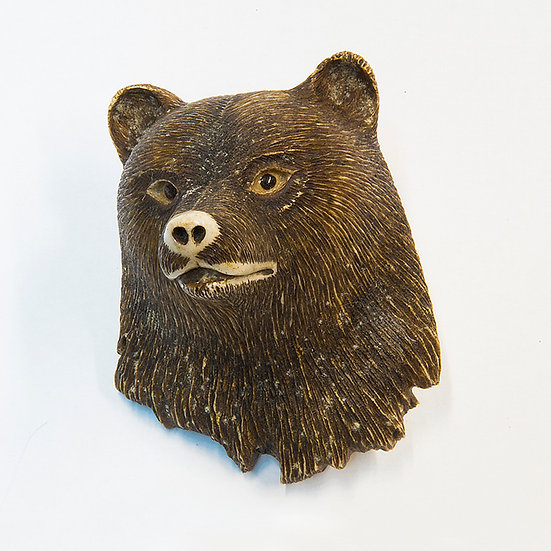 Bear Head Belt Buckle (83:116)