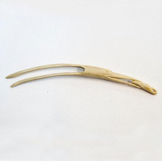 Heron Head Hair Pin (92:20)