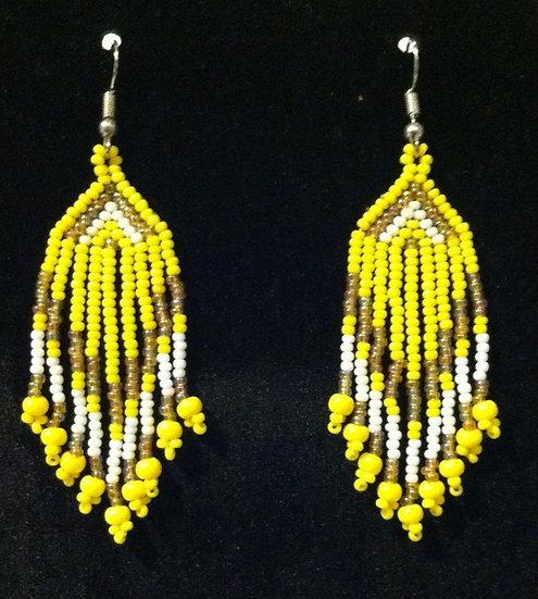 Earrings - Glass Bead