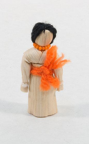 Small Standing Cornhusk Doll