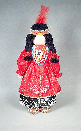 Female Cornhusk Doll (88:33a)