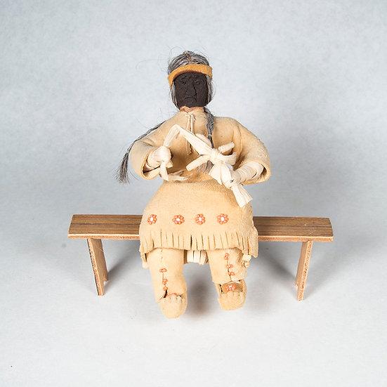 Doll Making Cornhusk Doll  (82:494)