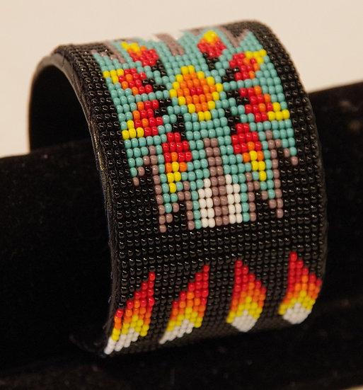 Bracelet -Bead Loomed Cuff