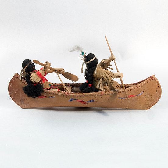 Cornhusk Dolls in Canoe (06:33)
