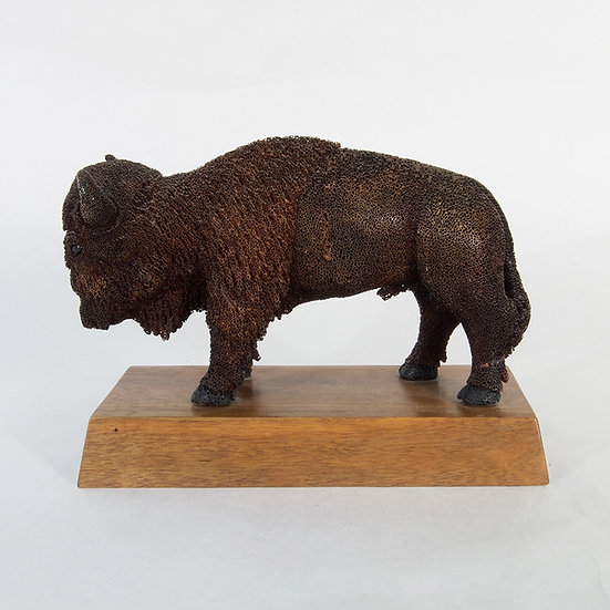 Buffalo Carving - Stan Hill