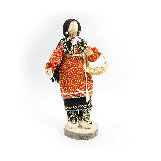 Cornhusk Doll in Red Dress (00:30)