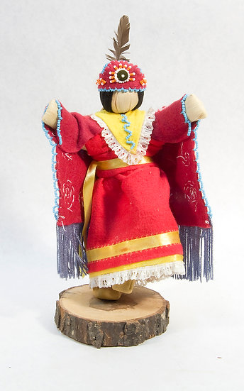 Traditional Cornhusk Doll (95:49)