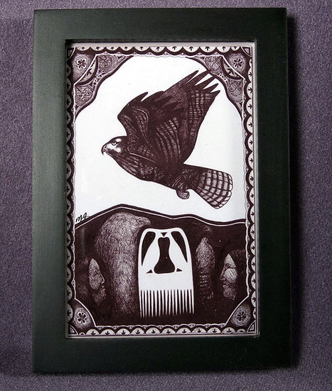 Hawk Clan Print